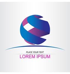 Logo sphera 012 vector image