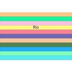 Rio 216 vector image