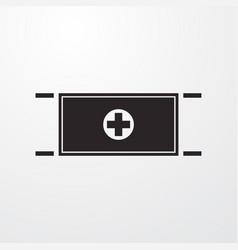 Stretcher icon vector