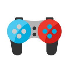 stylized gamepad vector image