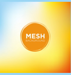 sunny morning mesh background vector image