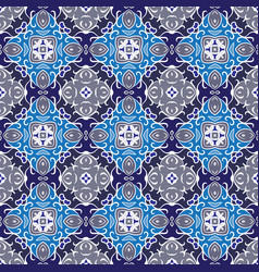 Symmetric seamless pattern vector