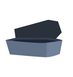Vampire coffin stone to sleep dracula vector