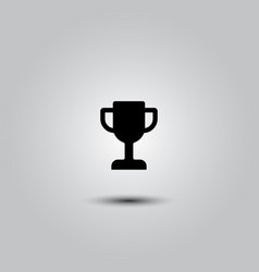 winner cup icon vector image