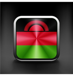 simple Malawi present flag isolated vector image