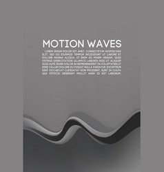 abstract wave for banner vector image vector image
