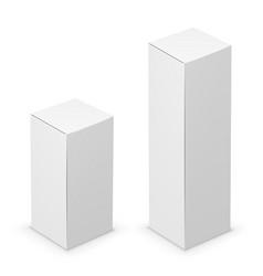 tall box vector image vector image