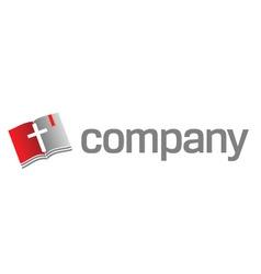bible logo vector image vector image
