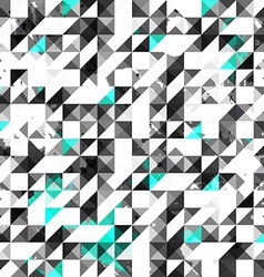 blue color grunge triangle seamless pattern vector image vector image