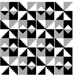 Ghana african tribal kente seamless pattern vector