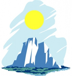 Iceberg vector