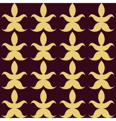 Luxury abstract seamless pattern vector image
