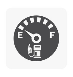oil gas and equipment icon on white vector image