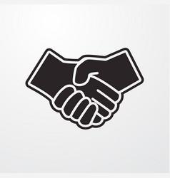 Partner icon vector