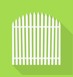 small house barrier icon flat style vector image