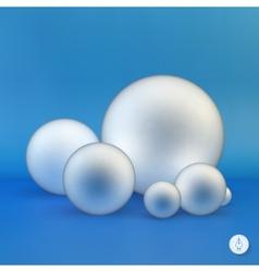 Spheres 3D vector