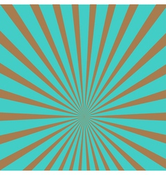 sunburst with ray light template blue and brown vector image