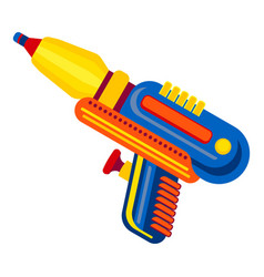 Water blaster icon cartoon style vector