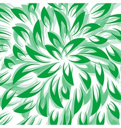 Green Leaf Abstract Background vector image vector image