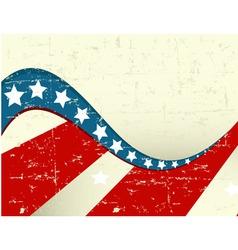 Illustration of grange patriotic background vector