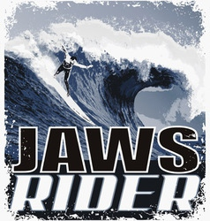 JAW Riders vector image vector image