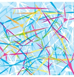Abstract background with geometrical objects vector