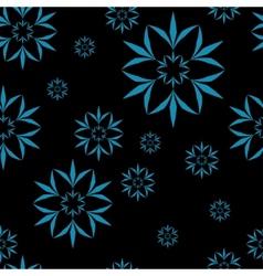 Amazing flower seamless pattern vector image