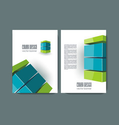 banners template design with abstract lines vector image