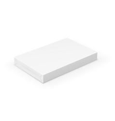 box on white vector image