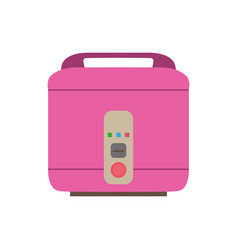 Cooker rice icon pot electric kitchen vector