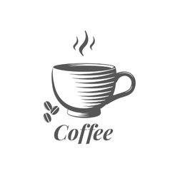 Cup of coffee sign vector