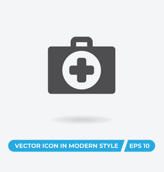 first aid icon simple car sign vector image