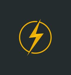 Flash logo generic logotype isolated emblem vector