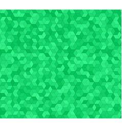 Green 3d cube mosaic pattern background design vector