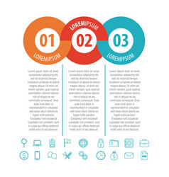infographics diagrams chart vector image