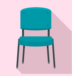 office chair icon flat style vector image