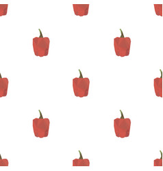 red sweet pepper triangle pattern backgrounds vector image