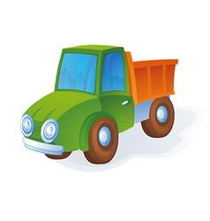 Toy truck vector