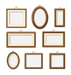 Picture photo frames vector image vector image