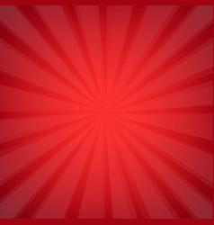 red sunburst vector image vector image