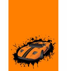 fantastic car vector image