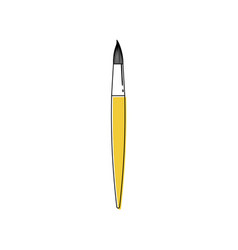 line brush icon vector image