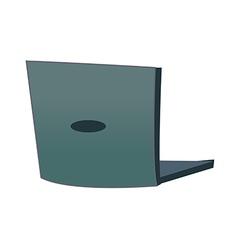 A laptop vector