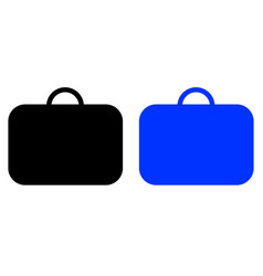 business case icon vector image