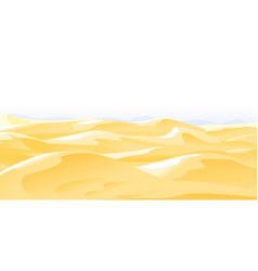 Desert landscape nature background vector