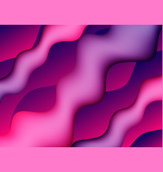 Fluid colorful shapes composition abstract liquid vector