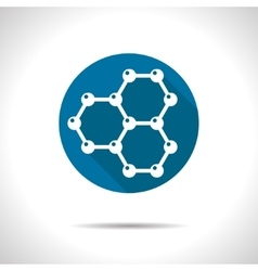 Graphene icon vector image
