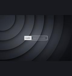 luxury dark black premium background vector image