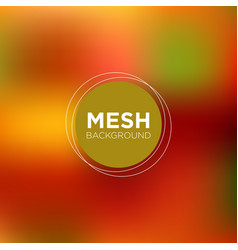 Mesh background in peachy red tones vector