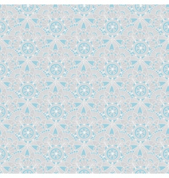 Seamless gray-blue vintage pastel pattern vector